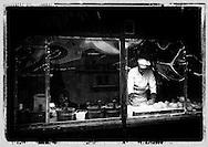The baker at the christmas market in Winterthur, Switzerland