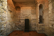 Spain, Andalusia, Cordoba, Interior of the old synagogue
