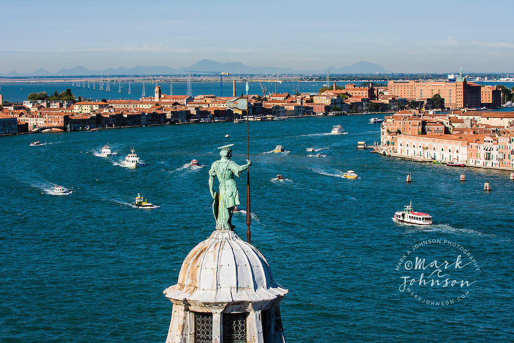 The Grand Canal waterfront, Venice, Italy, Europe