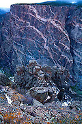 Black Canyon of the Gunnison National Park, Painted Wall, Colorado