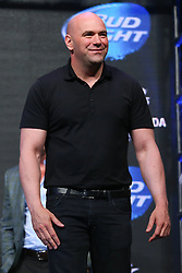 Las Vegas, Nevada, USA - July 4, 2014: Dana White at the UFC 175 weigh-in's at the Mandalay Bay Events Center in Las Vegas, Nevada.  Ed Mulholland for ESPN