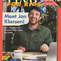 Author/Illustrator Jon Klassen for TIME for Kids.