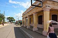 Street in San Cristobal, Artemisa, Cuba.