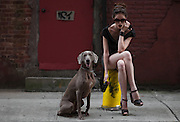 Coco Rocha, campagne Longchamp, New York