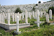 Sarajevo cemetery.<br /> July 11th will mark 20 years of anniversary of the genocide