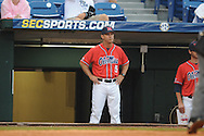 Ole Miss Head Coach Mike Bianco vs. Auburn during the Southeastern Conference tournament at Regions Park in Hoover, Ala. on Friday, May 28, 2010.  (AP Photo/Oxford Eagle, Bruce Newman)