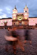 Monasterio San Francisco, Church, Old Town Quito, Quito, Ecuador