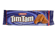 Packet of Arnott's Tim Tam Chocolate Biscuits - Jan 2016