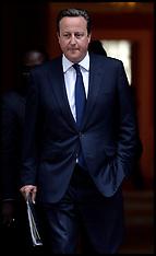 AUG 29 2013 David Cameron departs for HOC