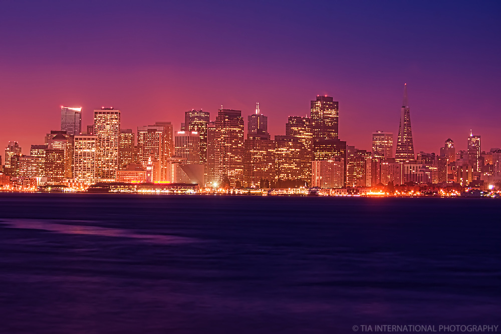 San Francisco Skyline from Treasure Island, Morning