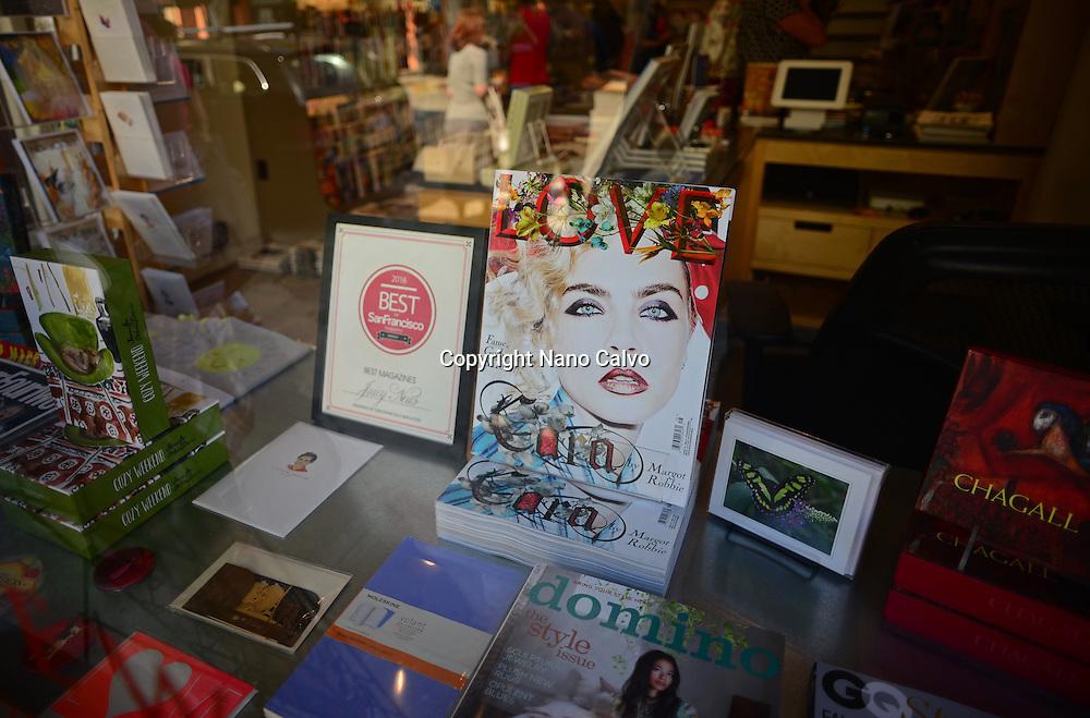 Bookstore in Russian Hill area, San Francisco