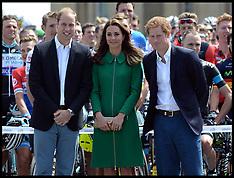 JUL 05 2014 The Royals attend the Tour De France -Yorkshire