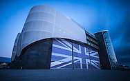 The Headquarters of British America's Cup Team Land Rover BAR in Old Portsmouth.