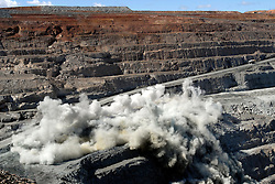 Kalgoorlies Super Pit Western Australia (Super Pit owned by Kalgoorlie Consolidated Gold Mines Pty Ltd)