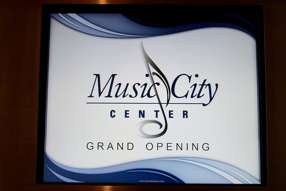 Grand Opening of the Music City Center, Nashville,Tennessee