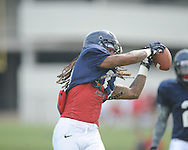 Ole Miss defensive back Quadarias Mireles (17) at football practice in Oxford, Miss. on Sunday, August 4, 2013.