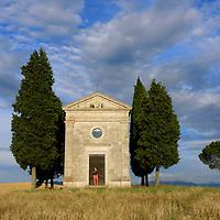 Capella de Vitaleta,Pienza,Tuscany, Italy, Europe