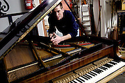 Piano maker Rainer Hoelker | January 2005