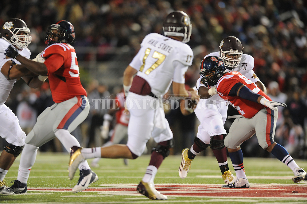 Ole Miss vs. Mississippi State at Vaught Hemingway Stadium in Oxford, Miss. on Saturday, November 24, 2012. Ole Miss won 41-24.