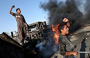 Iraqi truck drivers