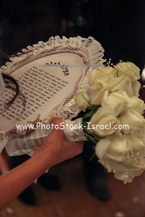 Bride's prayer. A bride on her wedding night reads a special prayer