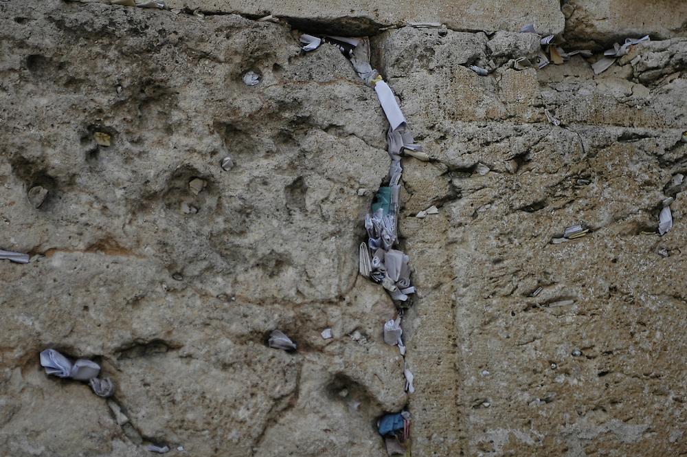 Mur des lamentations, Jérusalem.