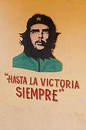 Image of Ernesto Che Guevara in Cuba.