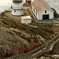 Lighthouse at Point Reyes, California.
