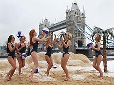 JAN 21 2013 Pop up beach in London