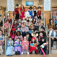 Glasgow primary school pupils take part in he Biggest Book Show on Earth at the Glasgow Royal Concert Hall. <br />