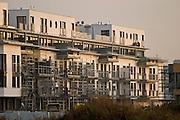 08.11.2006 Warsaw Poland. Construction of new housing estate in Wilanow. Fot Piotr Gesicki