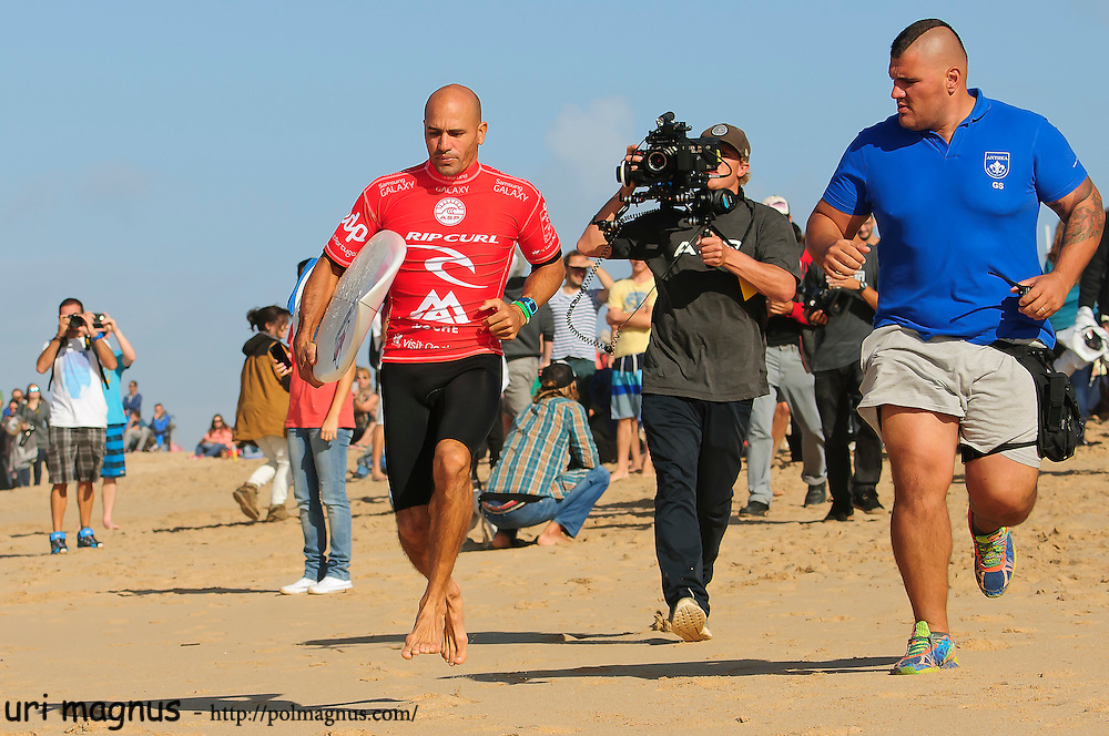 kelly slater and ASP bodyguard.<br />