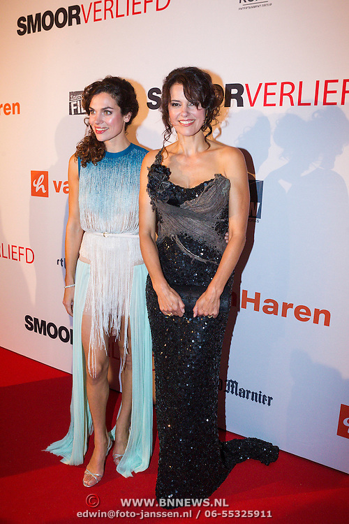 NLD/Scheveningen/20130909 -  Filmpremiere Smoorverliefd, Anna Drijver en Susan Visser