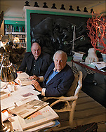 John Richardson, British art historian and Picasso biographer and Gijs van Hensbergen, art historian and author