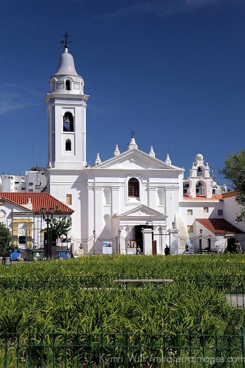 South america, Argentina, Buenos Aires. Basilica Nuestra Señora del Pilar in Recoleta.