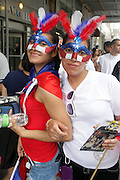 13 June 2010-New York, NY- Bonitas at the 2010 Puerto Rican Day Parade held along Fifth Ave from West 44th to West 79th Streets. Crowds estimated up to 2 million enjoyed the music, people and float that lined the Parade route.
