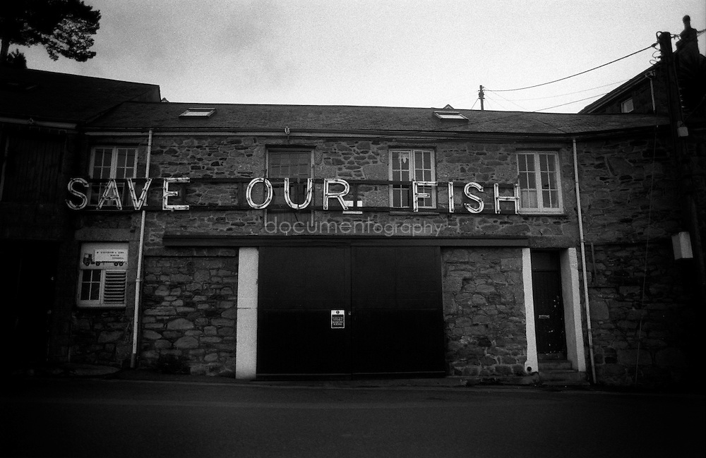 After the closure of the tin mines in the late eighties, it is now the fishing industry which is under threat.