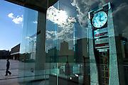 Peace clock at the Peace memorial Museum in Hiroshima