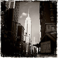 Empire State Building, New York City.