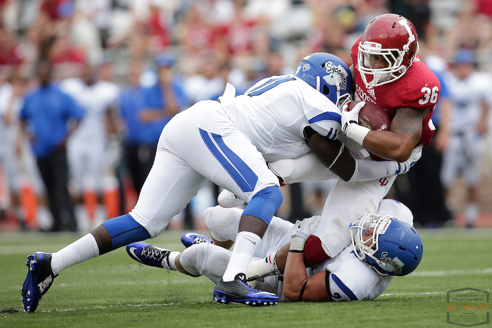 Indiana Hoosiers running back Myles Graham (36) as the Indiana Hoosiers played the Indiana State Sycamores in a college football game in Bloomington, IN.