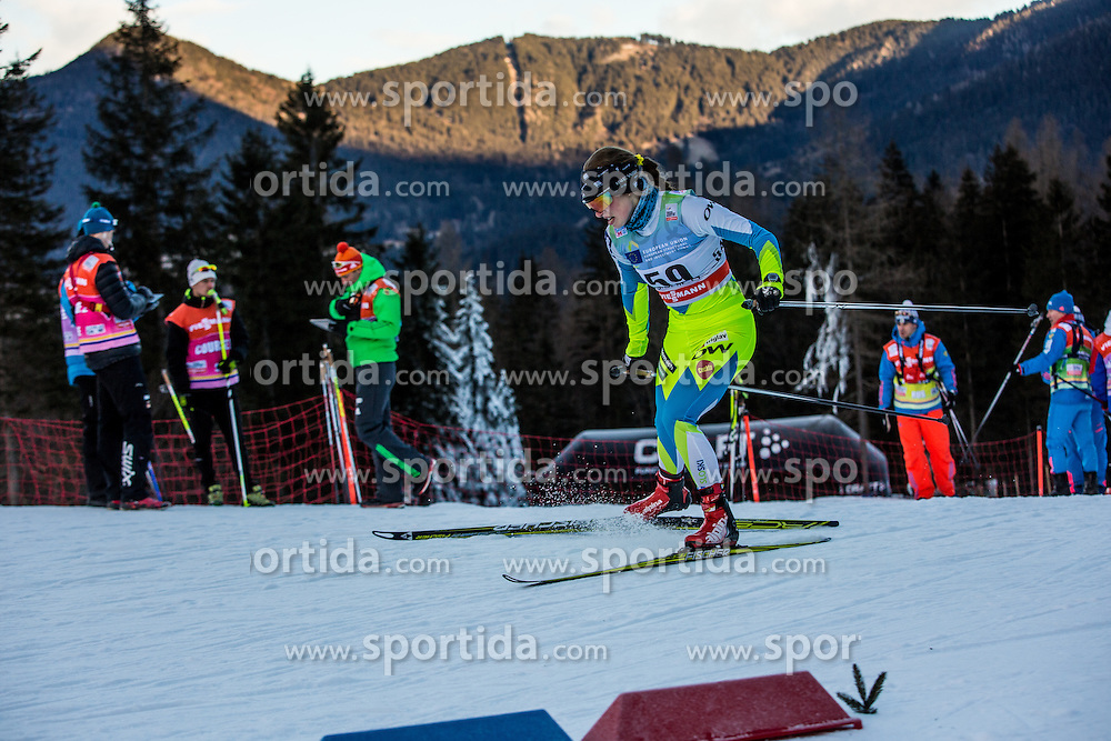 Anja Zavbi Kunaver of Slovenia during Ladies 1.2 km Free Sprint Qualification race at FIS Cross Country World Cup Planica 2016, on January 16, 2016 at Planica, Slovenia. Photo By Grega Valancic / Sportida