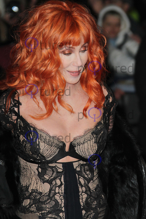 Cher Burlesque UK film premiere, Empire Cinema, Leicester Square, London, UK, 13 December 2010:  Contact: Ian@Piqtured.com +44(0)791 626 2580 (Picture by Richard Goldschmidt)