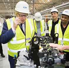 NOV 25 2014 Mayor visits Ford engine plant in Dagenham