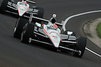 Ryan Briscoe, Will Power, Indianapolis 500 practice, Indianapolis Motor Speedway, Indianapolis, IN USA