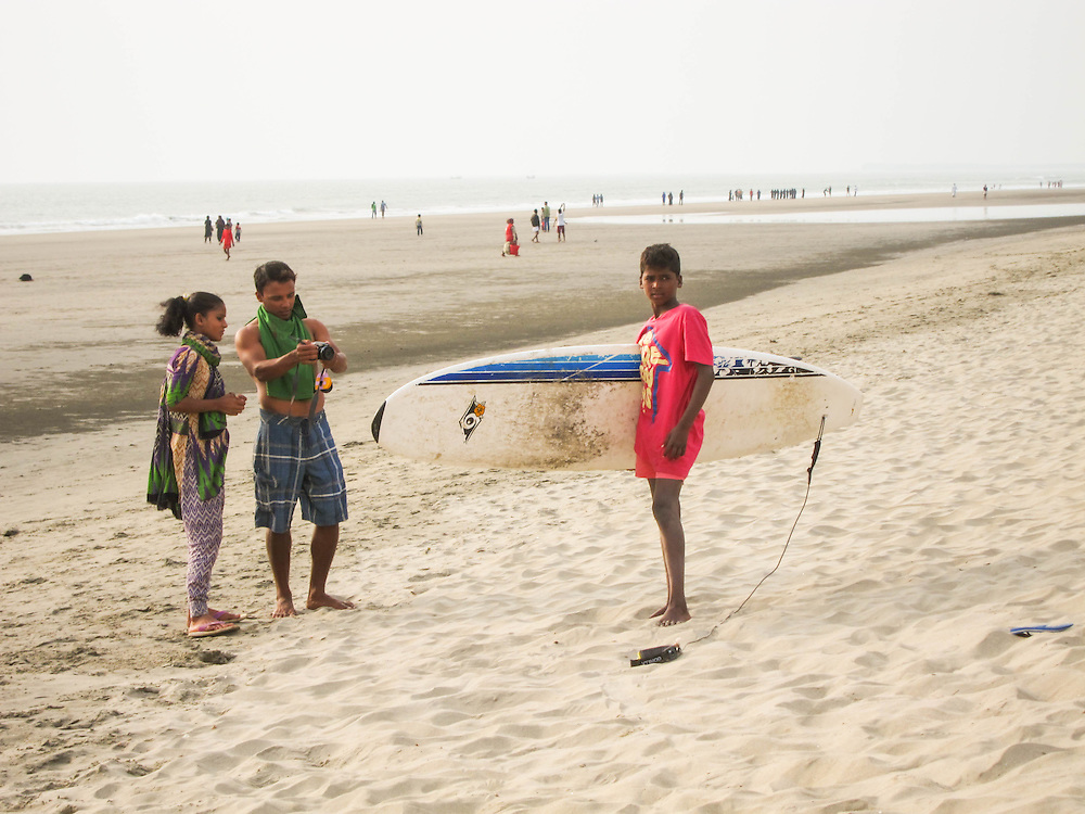 About the photographer: Nargis is 13 years old, and makes and sells jewellery on the beach. She was the last of the girls to join the Surfing club, but has picked up on skating very quickly. She loves music, and always carries around a sound box with her while she is working.