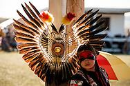 Powwow, kids, Rocky Boy Powwow, Traditional Dancer, Rocky Boy Indian Reservation, Montana.