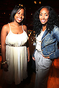 l to r: Cheryl Talley and Michelle Murray at The Alize Liquer Concrete + Cashmere Career Polishing Pack Luncheon held at The Blue Fin on August 19, 2009 in New York City..Life is more colorful when you mix it up so Alizé is bringing you the hip, edgy reality series Concrete + Cashmere. This show chronicles the lives of 6 adventurous,aspiring fashion professionals as they compete for $10,000 and mentoring from some of the brightest luminaries in the business through our Career Polishing Package...