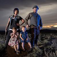 Duce Family,Oregon,USA