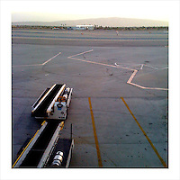 Early Morning, Palm Springs Airport 4/2/09 (iPhone image)
