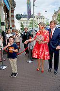 Koning Willem-Alexander en  Koningin Maxima wonen zaterdagavond 4 juni de openingsvoor